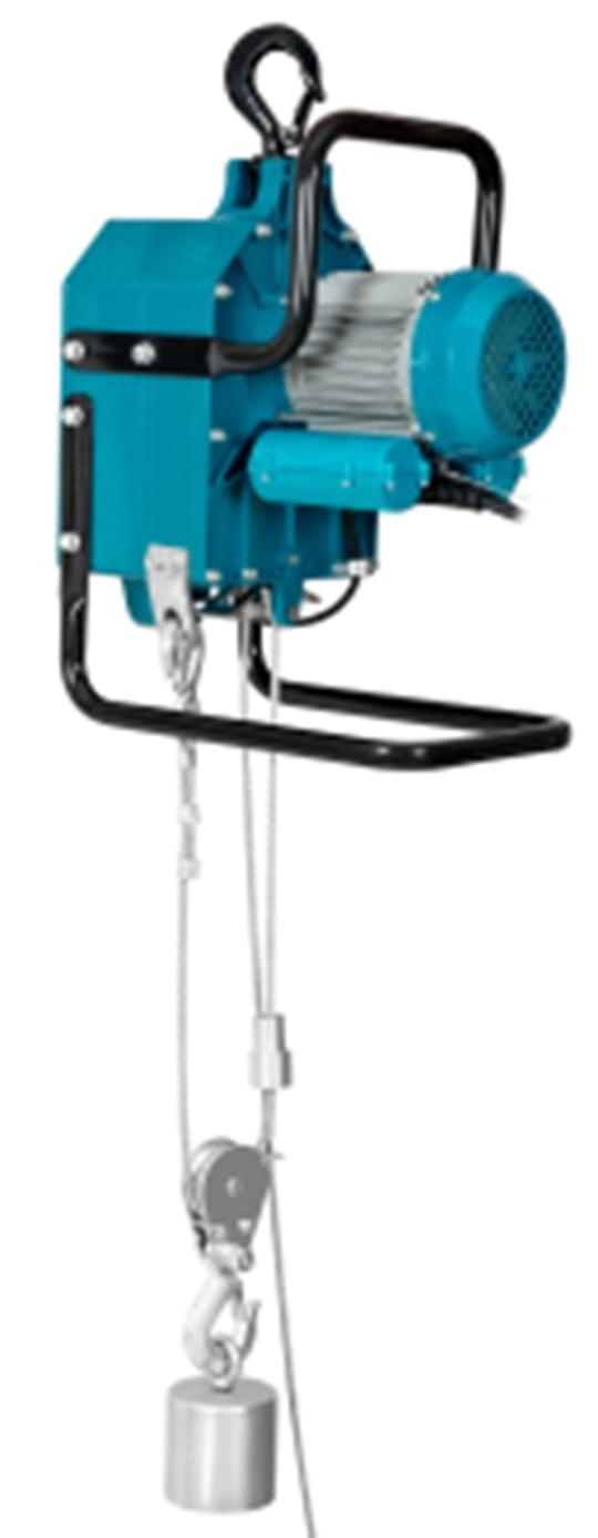 Таль электрическая подвесная TOR BLDN-YT-STL  300/600BP (в комплекте с канатом 200 м)
