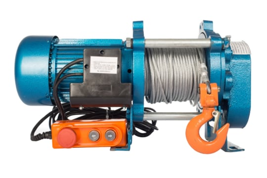 Лебедка TOR CD-1000-A (KCD-1000 kg, 380 В) с канатом 100  м