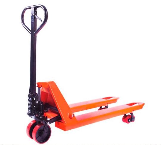 Тележка гидравлическая 2000 кг 1150 мм TOR DF  (полиуретановые колеса)