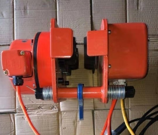Тележка электрическая для талей электрических  TOR DHP 1 т