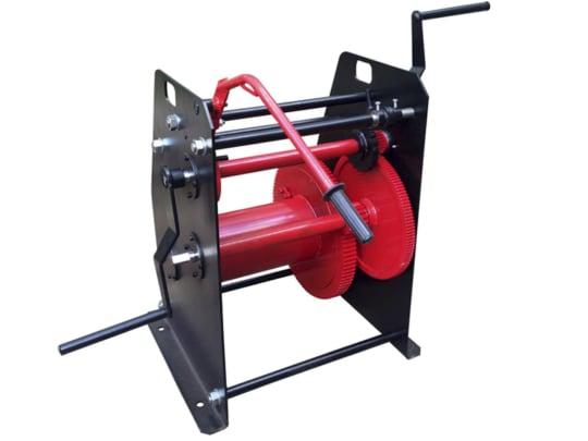 Лебедка барабанная TOR ТЛ-1Т г/п 1000 кг H-150  м (без каната)