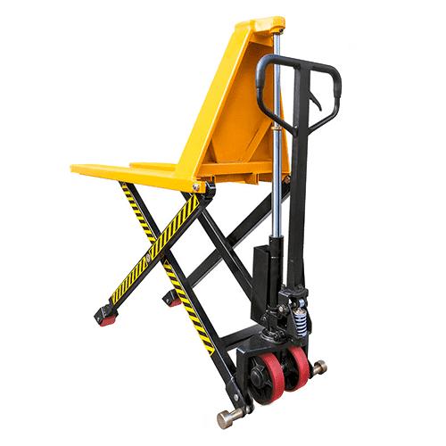 Тележка гидравлическая 1000 кг 1150 мм XILIN JF  с ножничным подъемом (полиуретановые колеса)