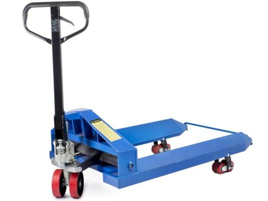 Тележка гидравлическая TOR ZT 2.5T — 1150*1150 для  рулонов (полиуретановые колеса)