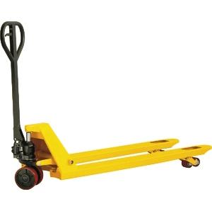 Тележка гидравлическая 2500 кг 1000х685 мм TOR  BF-III широковильная (полиуретановые колеса)