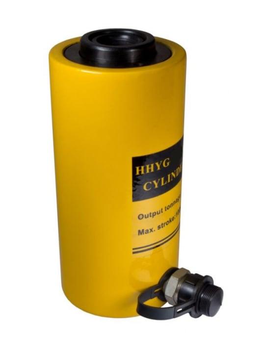 Домкрат гидравлический TOR ДП20П50 (HHYG-2050K),  20 т с полым штоком