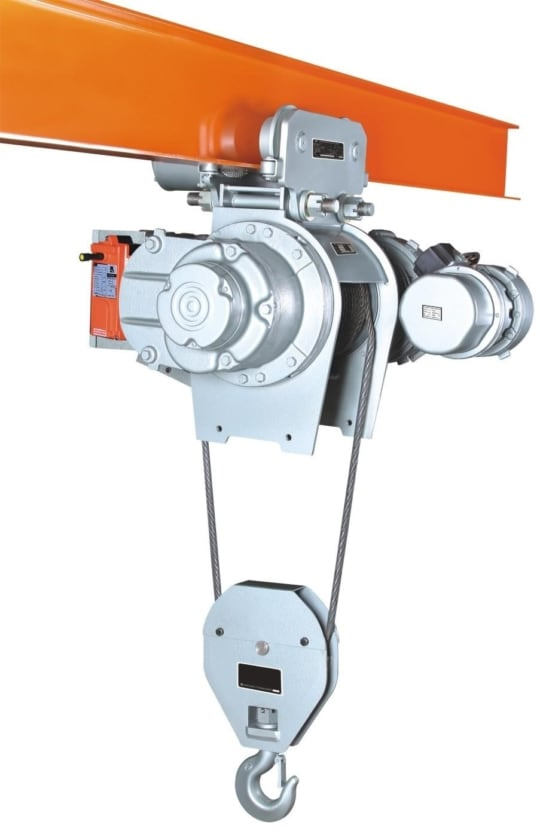 Таль электрическая канатная TOR SH г/п 2 т  6 м 380 В