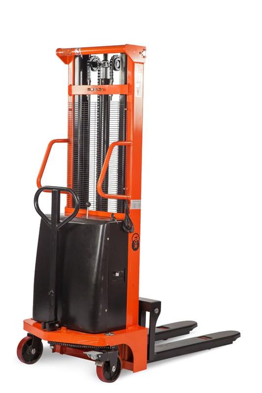 Штабелер гидравлический с электроподъемом  1,0 т 2,5 м TOR CTD10/25