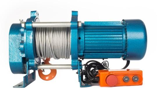 Лебедка TOR CD-500-A (KCD-500 kg, 380 В) с канатом 100  м