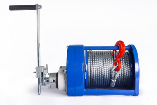 Лебедка ручная TOR ЛТ-2 (JHW) г/п 2,0 т, длина троса  40 м