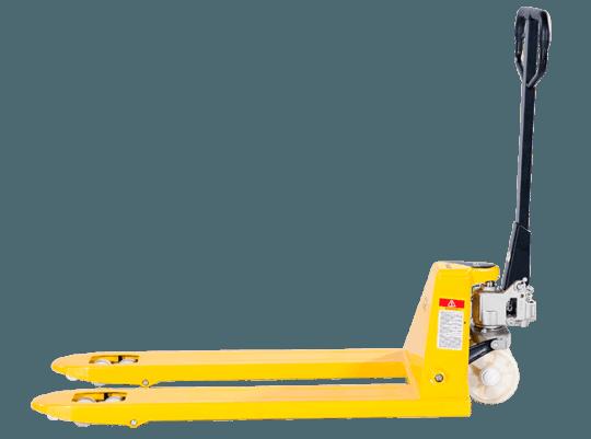 Тележка гидравлическая 2500 кг 2400 мм TOR PWH35-II  (нейлоновые колеса)
