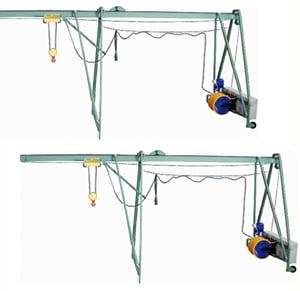 Подъемник строительный «УМЕЛЕЦ М» 320 кг  50 м с раcпоркой