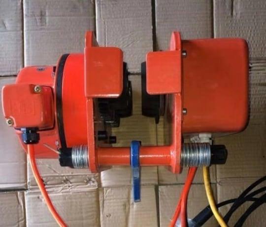 Тележка электрическая для талей электрических  TOR DHP 5 т