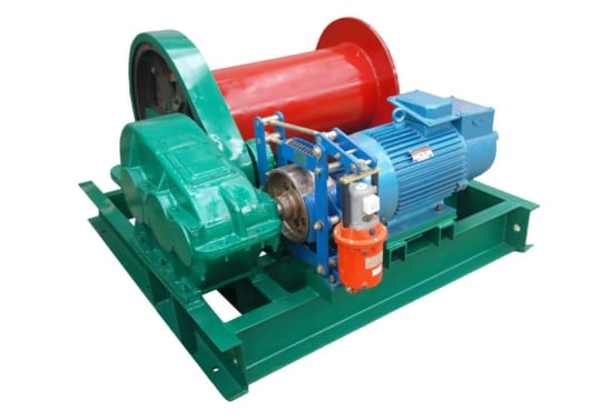 Лебедка электрическая TOR ЛМ (JM) г/п 0,5 тн  Н=100 м (c канатом)