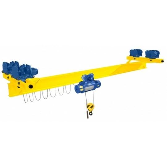 Кран мостовой однобалочный подвесной однопролётный  г/п 10 т пролет 15,0 м
