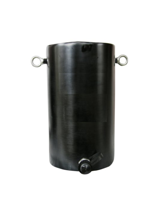 Домкрат гидравлический алюминиевый TOR  HHYG-15050L (ДГА150П50), 150т
