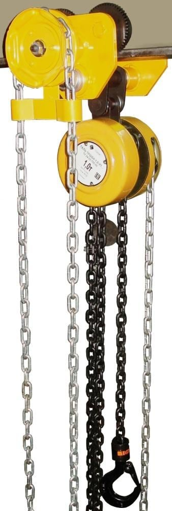 Таль ручная шестеренная ТРШБУп-Ех-1,0 т 3  м