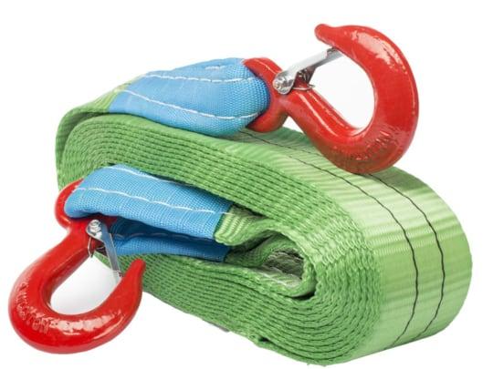 Буксир текстильный ленточный 8,0 т 5,0 м (крюк-крюк)