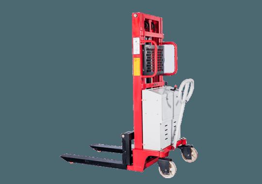 Штабелер гидравлический с электроподъемом  1,0 т 2,0 м TOR PEMS10