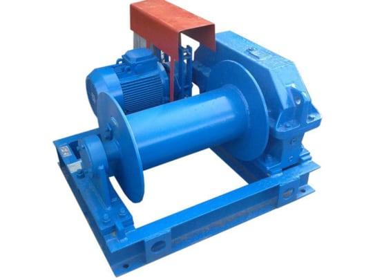 Лебедка маневровая электрическая ТЛ-8Б  г/п 50000/500 кг Н-220/440 м (с канатом, 200/400 м)