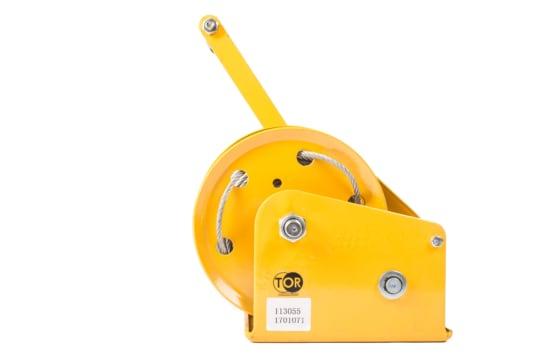 Лебедка ручная TOR ЛБ-1800 (BHW) г/п 0,5 т, длина  троса 20 м