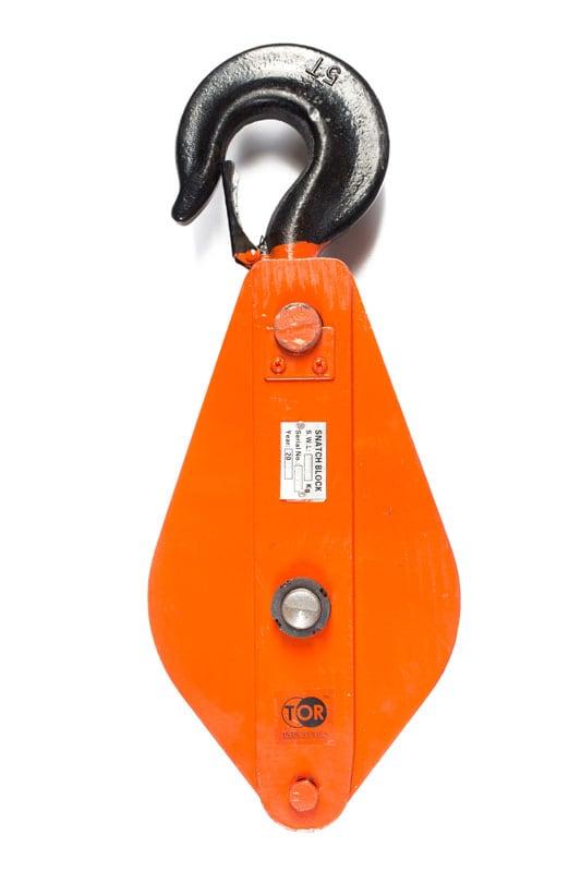 Блок монтажный с крюком TOR HQG(L) K1-5,0 т