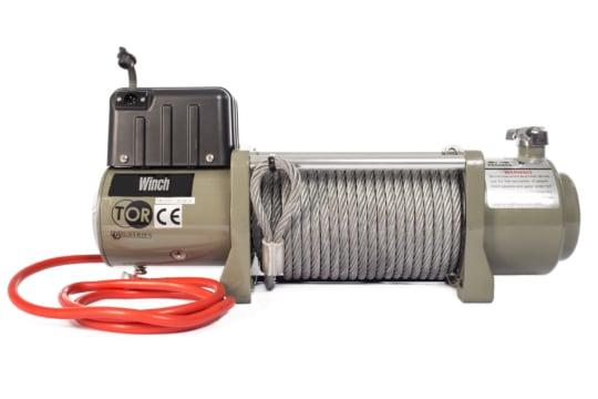 Лебедка автомобильная TOR ЛА SEC15000 г/п 6804  кг 28 м 12V