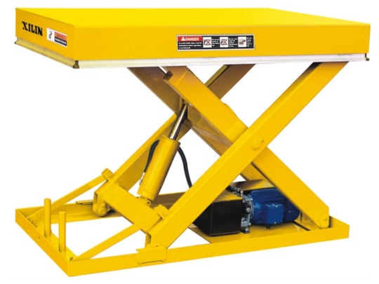 Стол подъемный стационарный 1000 кг 190-1000  мм XILIN DG01