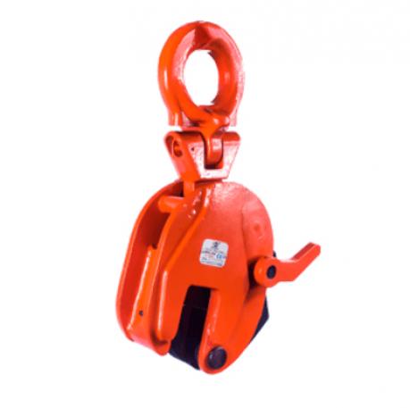 Захват вертикальный TOR DSQA (г/п 5,0 т, лист  0-40 мм) поворотн.