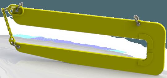 Захват для лестничных маршей LM (г/п 1,5 т,  №2)