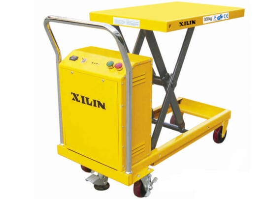 Стол подъемный передвижной 300 кг 300-900 мм  XILIN DP30 электрический