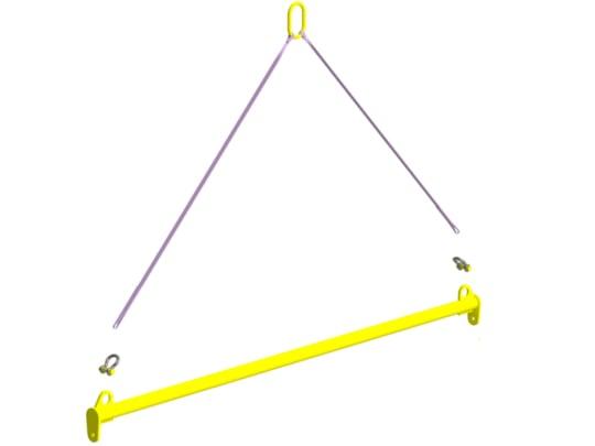 Траверса линейная для сэндвич-панелей  1,0 т 3,0 м TLSP